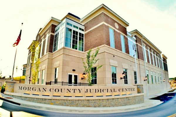Elliott Supply and Glass Morgan County Judicial Center - Glass Contractor